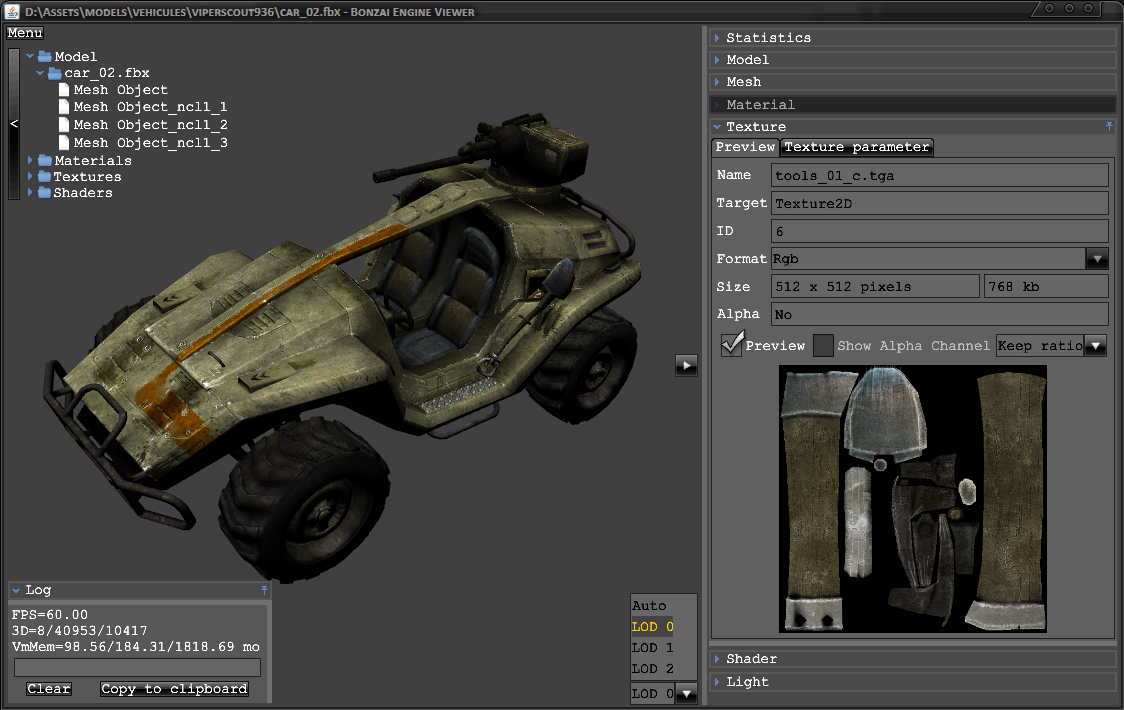 Bonzai Engine A 3d Engine And Tools For Windows Mac
